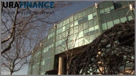 Фото здания открытия банковского счета в Латвии UraFinance