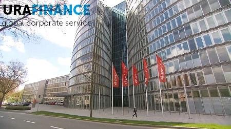 Фото здания открытия фирмы в Германии